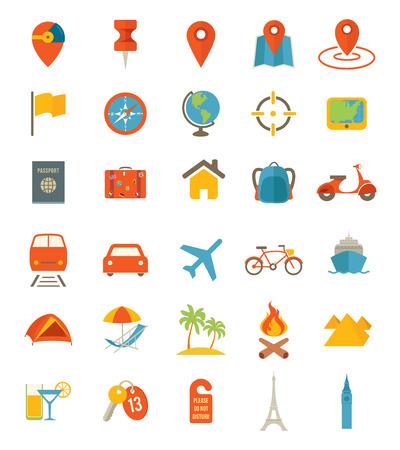 travel icons: Travel Icons