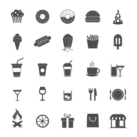 ice cream cup: Food Icons