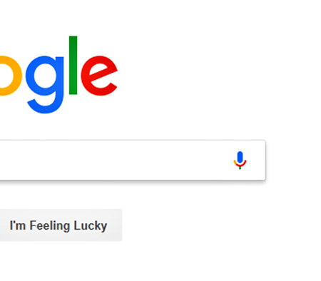 Gros plan sur la recherche google.