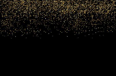 waterfalls golden glitter