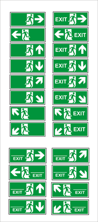 sign, mandatory sign, sign, sign, sign, sign for sticker, posters, and other material printing. easy to modify. Vector. Stock Vector - 121179790
