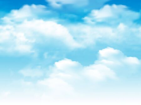 blue sky with-white cloud background.