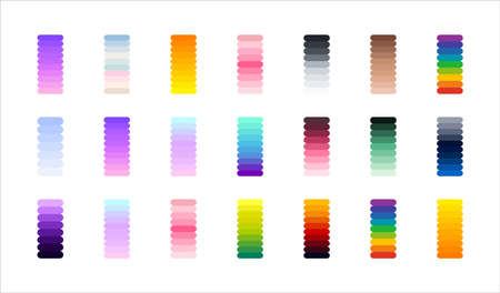 Gradients collection. Perfect colors for design. Vector.