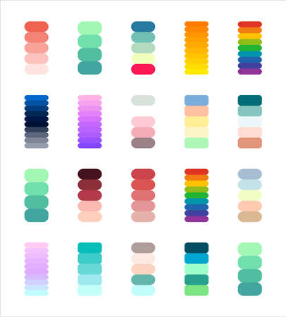 Gradients big collection. Perfect colors for design. Vector.