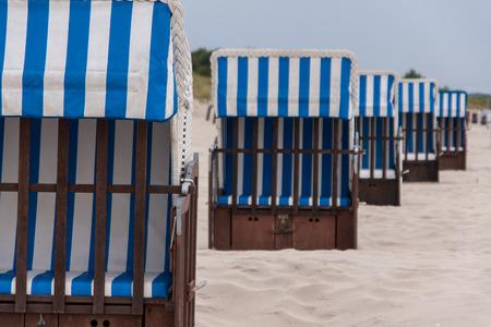 eos: Beach chairs Stock Photo