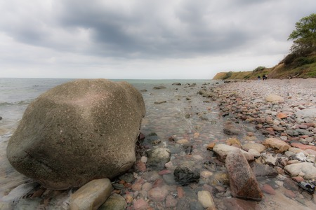 stoney: Stoney shore Stock Photo