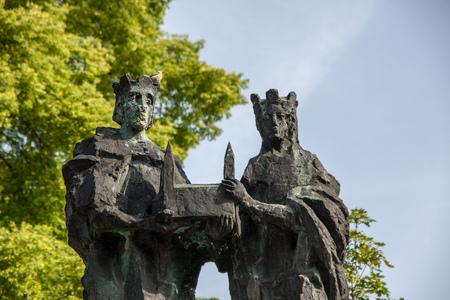 Henry and Kundigunde statues