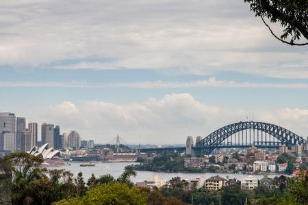 sidney: Skyline of Sidney from Taronga Zoo Australia