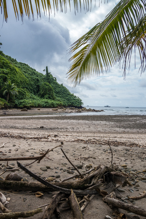 Wafers Bay on Cocos Island Costa Rica