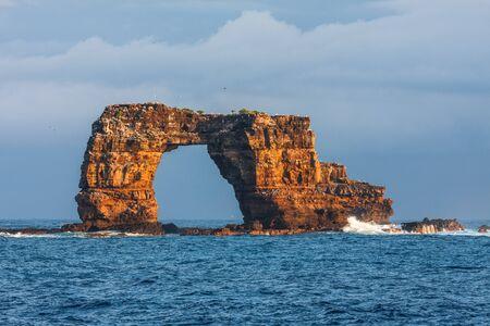 The famous Darwin's Arch in Galapagos in Ecuador