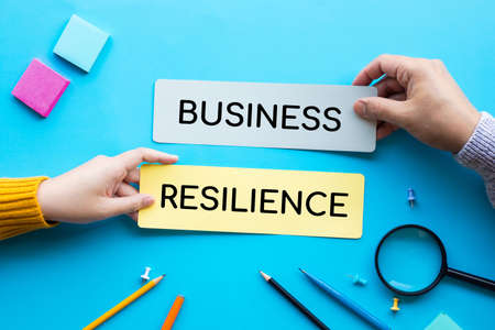 Business resilience concepts.plan and strategy.brainstorming of teamwork
