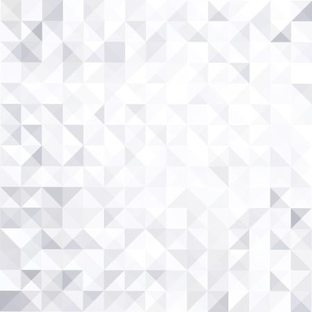 幾何学的抽象の白灰色の背景