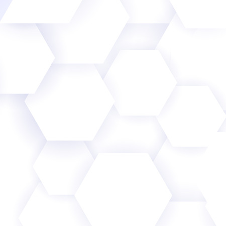 Stylish minimal background with pure   soft white tones, vector illustration Vector