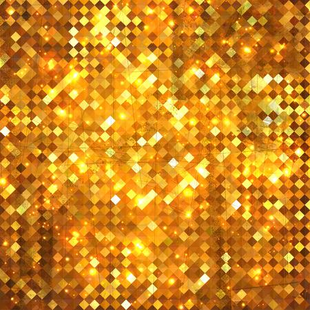 Luxury concept golden vintage background, grunge style design