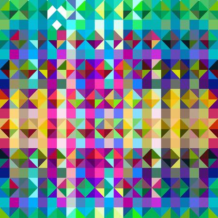 canlı renkli: Şık canlı renk tonları ile soyut üçgen geometrik background