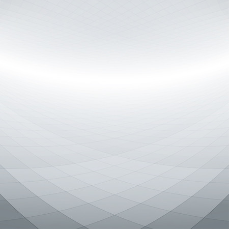 Abstract perspective background with warped squares Illustration