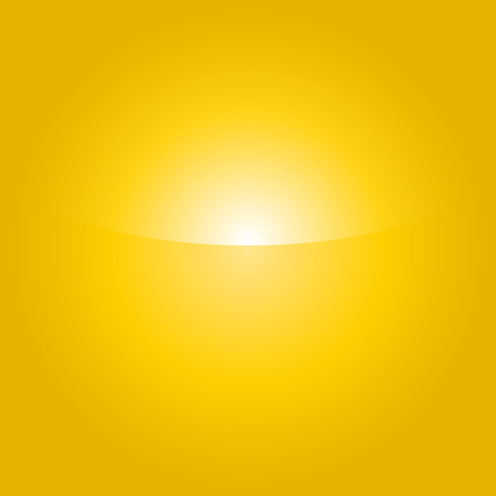 wellness environment: Shiny summer background with vibrant yellow & orange color tones. Illustration
