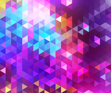 geometric style: Beautiful abstract geometric style background with vibrant color tones.