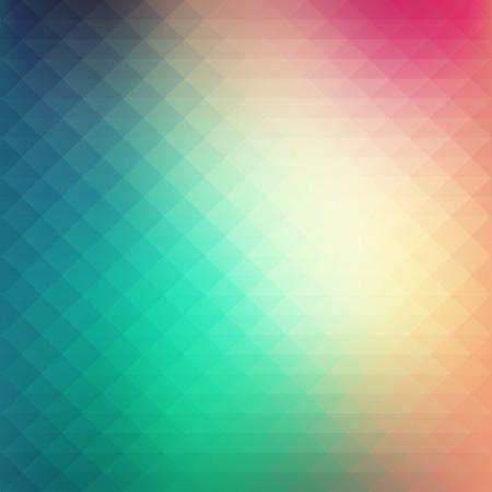 柔らかいパステル調の色彩と抽象的なカラフルな幾何学的なスタイルの背景