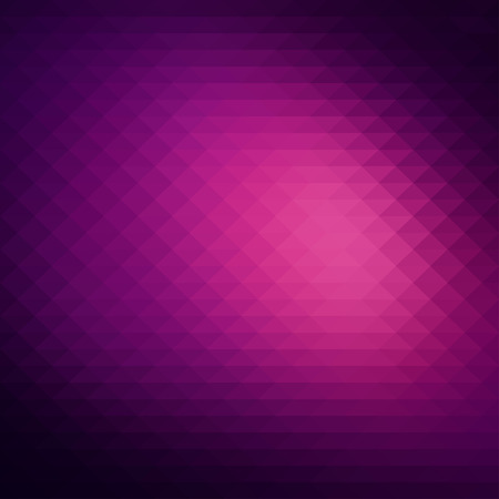 pink and black: Abstract dark purple background, geometric style design