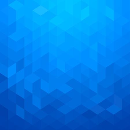추상적 인 기하학적 스타일 파란색 배경
