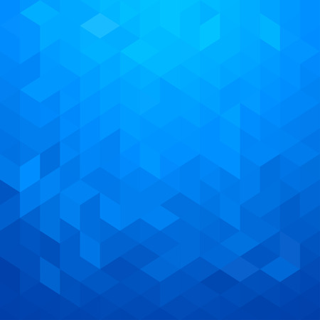 geometric style: Abstract geometric style blue background
