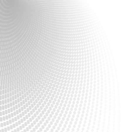 cyber: Abstract perspective background with white & gray tones