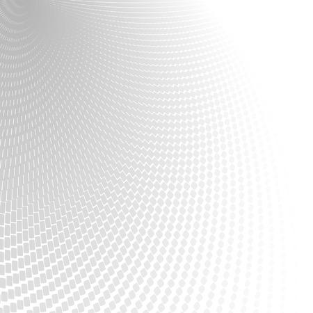 Abstracte perspectief achtergrond met witte en grijze tinten Stock Illustratie
