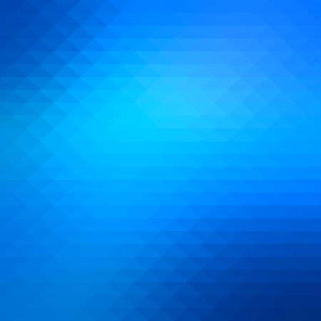 Abstract shiny blue geometric background Ilustração