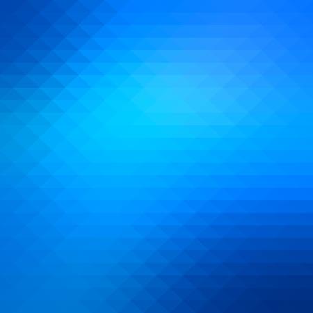 Abstract shiny blue geometric background Illustration