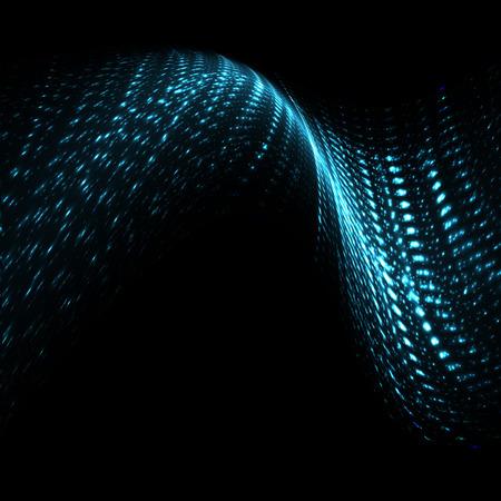 추상 미래의 디지털 배경