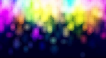 briliance: Abstract blurred lights celebration background  banner. Illustration