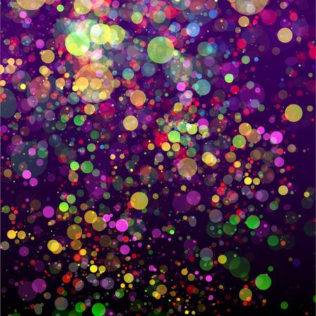 Abstract color bubbles background. Vektoros illusztráció