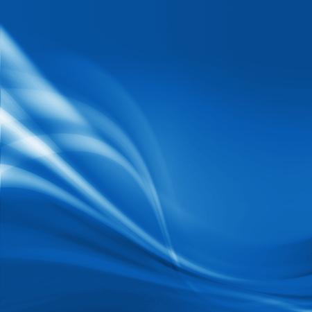 クールなブルー、抽象的なビジネスの背景 写真素材