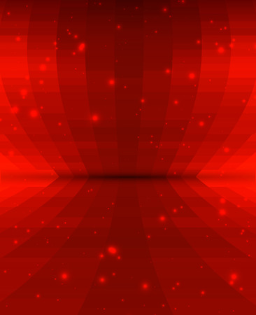 red abstract: beautiful abstract background with dreamy vivid red color