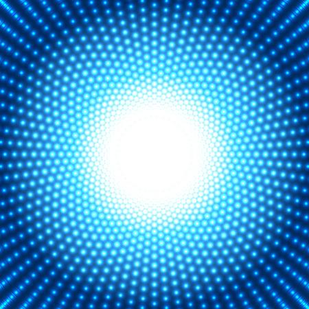 koel: koele blauwe gestippelde achtergrond Stock Illustratie