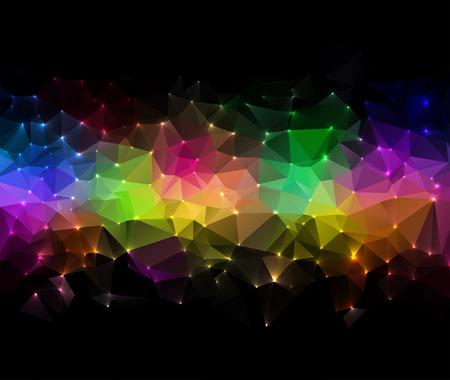 Technologie-concept abstracte achtergrond, digitale kaart illustratie