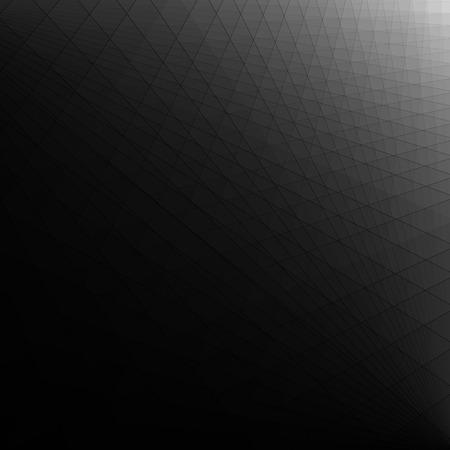Abstracte zwarte donkere futuristische achtergrond Stock Illustratie