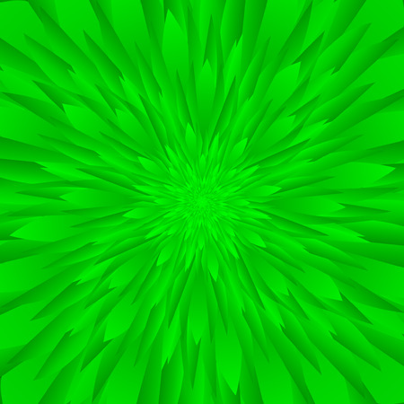 branch to grow up: Abstract green flower background