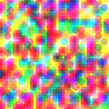 vibrant: Colorful dots abstract vector art background with vibrant tones Illustration