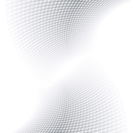 halves: Abstract halftone background with soft grey tones.