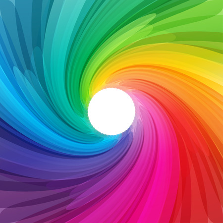 Abstract colorful background illustration with vibrant color tones