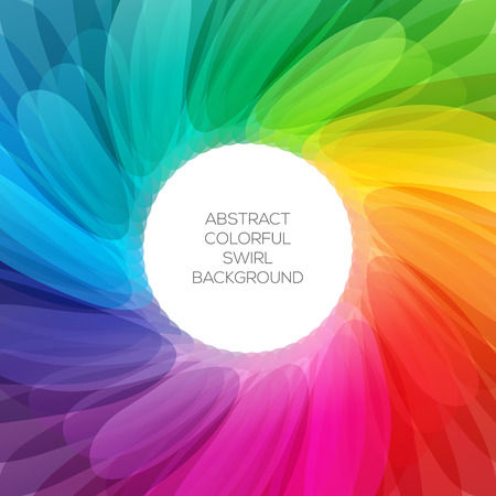 abstract rainbow: Abstract colorful background illustration with vibrant color tones