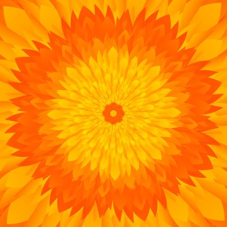 tones: Abstract yellow  orange tones flower background