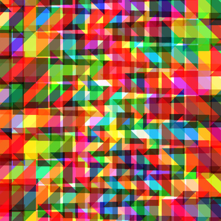 vibrant color: Abstract colorful geometric background with shiny vibrant color tones
