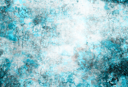 グランジ スタイルのカラフルなスプラッシュ背景を抽象化します。水彩画背景イメージ イラスト。