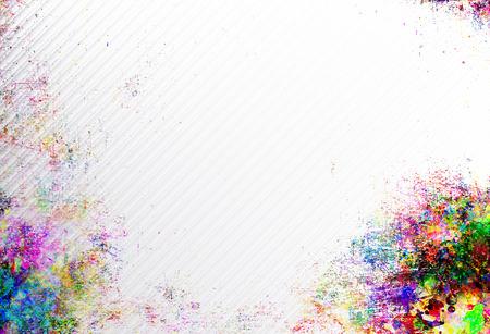 추상 grunge 스타일 다채로운 스플래시 배경입니다. 수채화 배경 이미지입니다. 스톡 콘텐츠 - 47326471