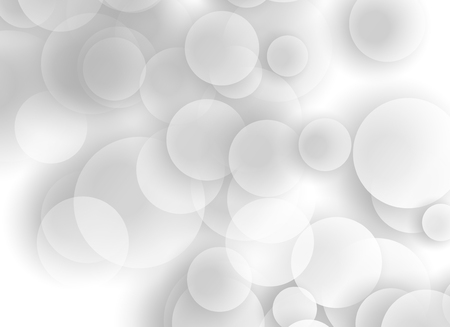 Abstract geometric white background