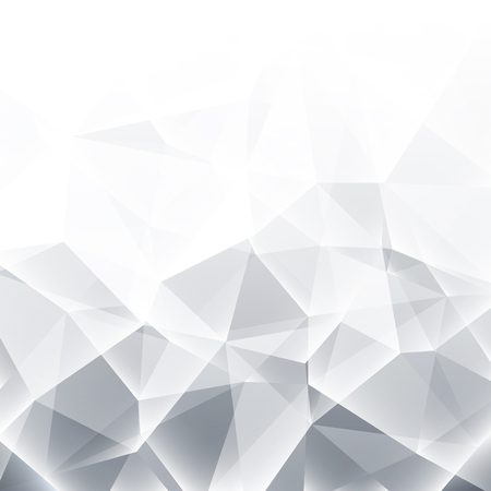 Abstract grey  white geometric background
