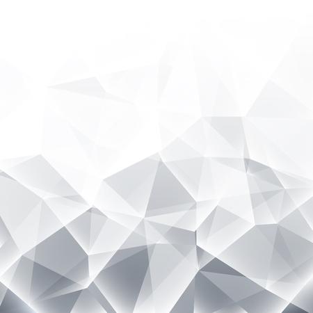 Streszczenie szare tło białe geometryczne
